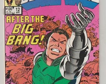 Marvel Super Heroes Secret Wars; Vol 1, 12 Copper Age Comic Book.  NM- (9.2).  April 1985.  Marvel Comics
