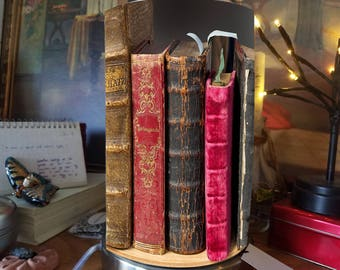 Old Books Desk Lamp