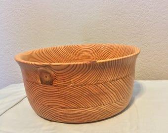 Pine bowl