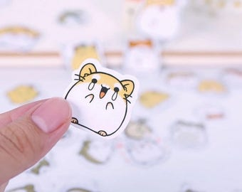 Cute Hamster Stickers ST7028H