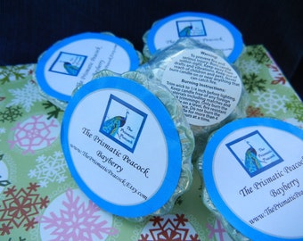 Bayberry Scented Soy Wax Melting Tarts Green