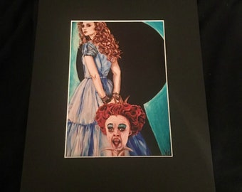 "5""x7"" Matted Print-Off with Her Head"