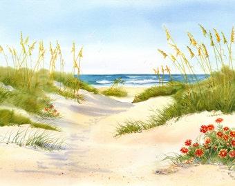 Beach Blankets, also known as Gaillardia and Joe Bell on Ocracoke