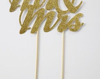 Mr & Mrs Cake Topper, Wedding Cake Topper, Anniversary Cake Topper, Engagement Cake Topper