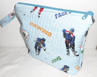 QUILTED Zippered BIZZZEE BAG for Tots Toys/Keep Busy Bag/Bag for Tots Toys/Keep Busy Travel Bag 4 Children/Zippered Toy Bag 4 Tots Toys