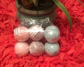 Bath Bomb Set Of 6 Handmade Premium Quality