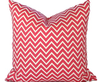 Orange Pillow Covers ANY SIZE Decorative Pillow Cover Orange Pillow Premier Prints Cosmo Candy Pink