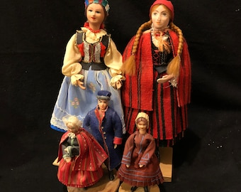 Vintage Polish Doll Collection
