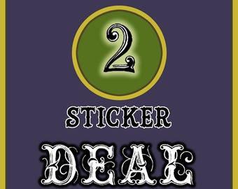 2 Sticker Combo Deal !!