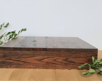 17x17 Wedding Cake Stand, Grooms Cake, Square Cake Stand, Stacking Cake/Cupcake Stand, Reclaimed Wood, Rustic Cake Stand, Custom Cake Stand