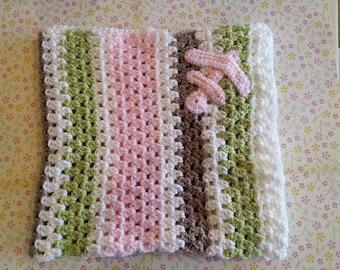 Baby crocheted blanket