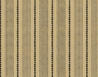 Windham Basics - Brown & Tan Shirting Stripe Fabric
