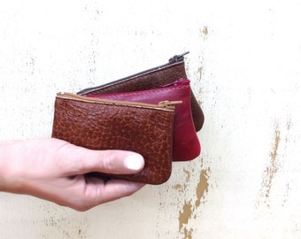 Sale!! Minimal wallet, Credit Card Wallet, Leather Credit Card Pouch, coin purse, Coin Pouch, Wallets for Her, Personalized Wallet, Men Gift