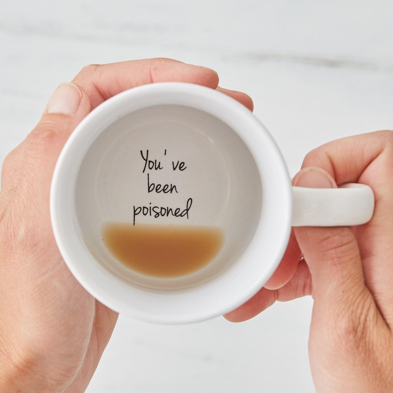 Funny Mugs Secret Message Mug coffee mug Coffee Halloween