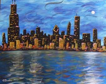 Chicago Skyline DIGITAL