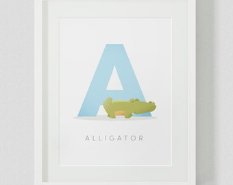 Alphabet Letter Animal Printable