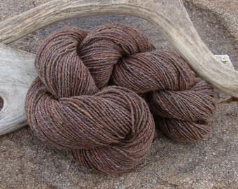 Hand Spun Merino Yarn - Sandalwood
