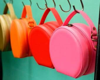 Crossbody Bag, Vegan Bag, Unique Bag, Evening Bag, Gift For Her, Evening Purse, Travel Case, Circle Bag, Fabric Handbag, Round Bag, Eco Bag