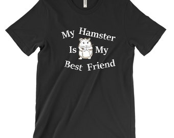 Hamster Shirt - Hamster Clothes - Chinese Hamster Tee - Gift For Hamster Owner - Cute Hamster Top - Funny Hamster Gift - Hamster Lover Tee