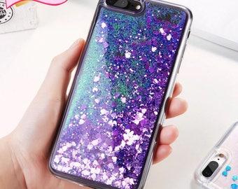 Glitter silicone iPhone8 7 6 6S  5 5S SE