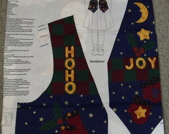 Dream Spinners Kids Christmas Vest Pattern Template Fabric & Instructions Sewing