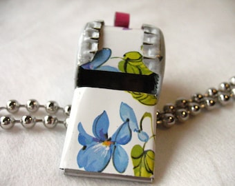Whistle Spring Flowers Jewelry BottlecapWhistles