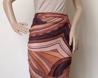 Argentine Tango skirt in small- medium size
