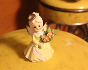 Vintage Porcelain Angel Figurine