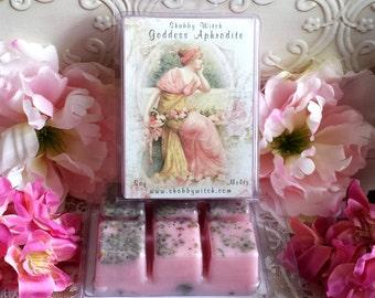 Goddess Aphrodite Soy Melts, SoyTarts, Spell Melts