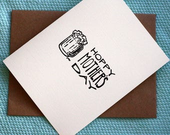 Hoppy Mother's Day - A7 Printable Mother's Day Card