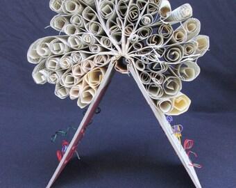 Altered book Art Sculpture-Rollers #2