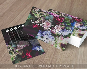 Business card template, Business cards,  Business card design, Business cards custom, Business cards photography, Business cards printable