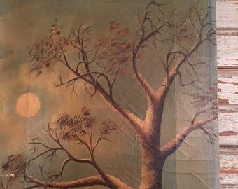 Antique oil painting Landscape