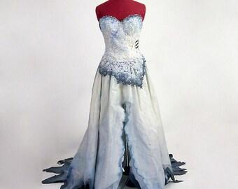 Corpse Bride Costume - Based on Tim Burton movie - Made to Order