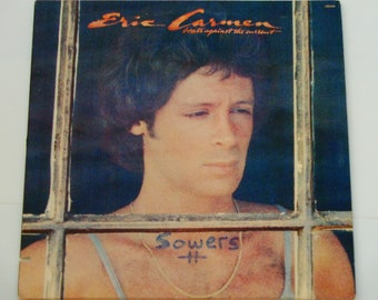 """Eric Carmen - Boats Against the Current - """"Love Is All That Matters"""" - Arista Records 1977 - Vintage Gatefold Vinyl LP Record Album"""