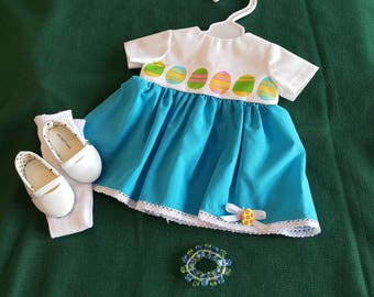 """18"""" Easter Holiday Doll Apparel"""