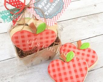Apples for Teacher Printable Tags