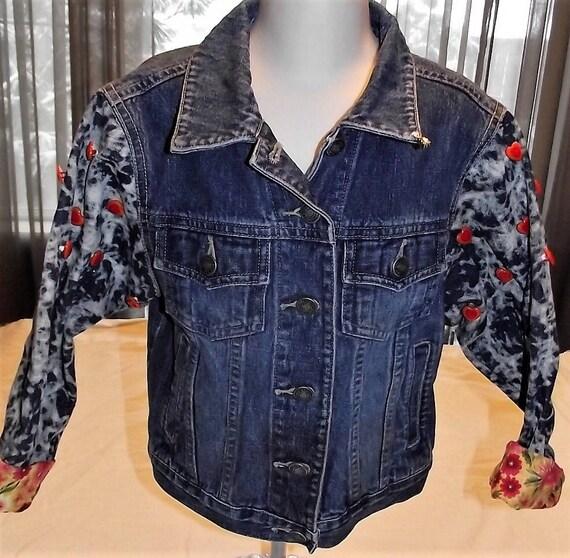 Refurbished Girls Denim Jacket, Size 6x