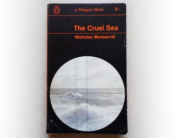 Nicholas Monsarrat - The Cruel Sea - Penguin vintage paperback book - 1967