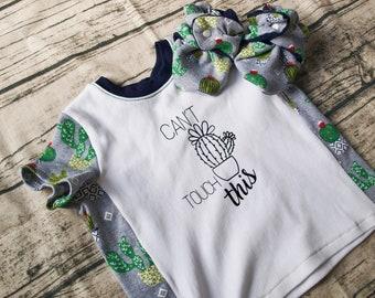 Cactus Shirt   Baby Shower Gift   Birthday Gift   Cactus Print   Cactus Shoes   Baby Shoes   Baby Booties   Succulent   New Baby Gift