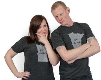 minnesota tshirt, minnesota graphic t, state pride tshirt, unisex, neutral, silkscreened tshirt, witty tshirt, men's gift, free ship