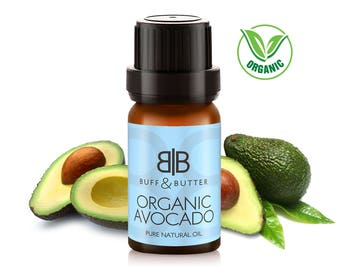 Organic Avocado Oil 100% Pure Natural Fragrance Aromatherapy - 1ml Tester Vial, 10ml, 25ml, 50ml, 100ml Bottle