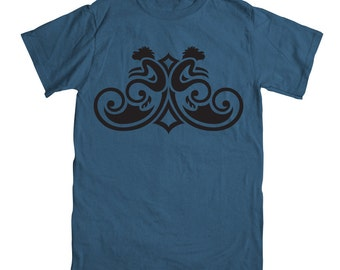Monkey T-shirt - Denim Blue - Youth Sizes