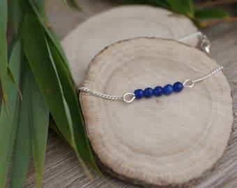 Bracelet semi-precious beads