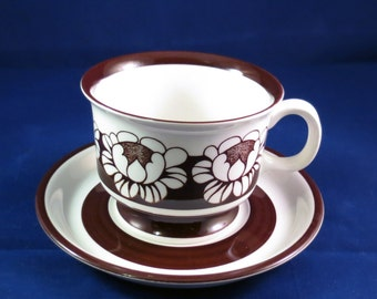 Arabia of Finland, Katrilli, Coffee cup and saucer