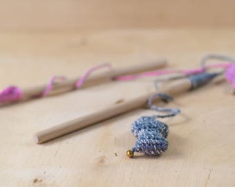 Wand and toys for cats | Catnip cat toys | cat wand | handmade toys | recycled toys