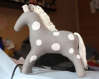 Horse //Stuffed Waldorf Horse //Waldorf toy //Stuffed animal //Waldorf Horse //Waldorf inspired