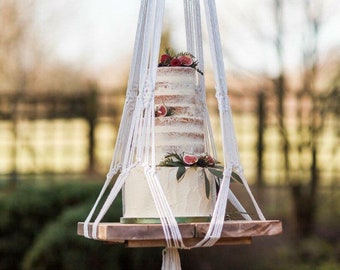 Cake stand - Rustic Cake stand - reclaimed wood cake stand