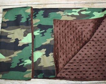 Baby Blanket- Baby Blankets- Nursery Blanket- Baby boy Blanket- Camo Baby Blanket-Baby Shower Gift-Monogram Blanket-Baby Boy blanket