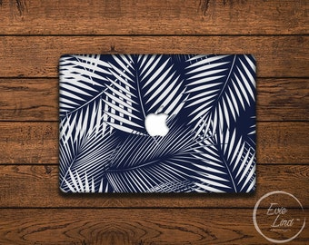 Jungle Leaves Macbook Decal / Macbook Sticker / Stickers macbook pro / Macbook Air Sticker / Macbook Air skin / Laptop decal / EL013